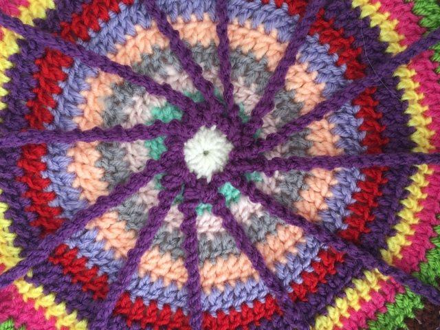 jan crochet spoke mandala for marinke