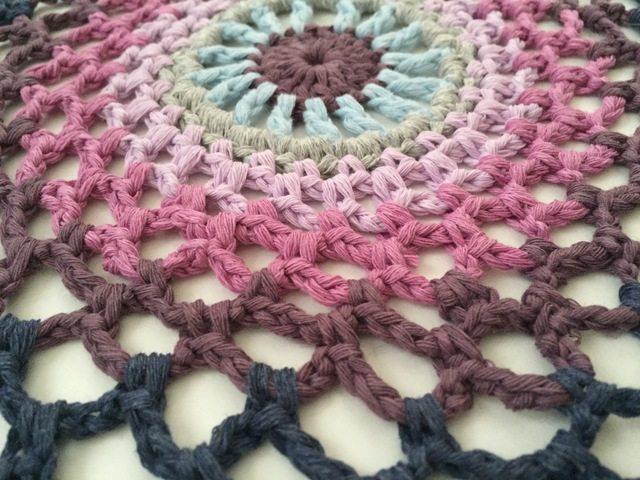 kellys crochet mandala for marinke
