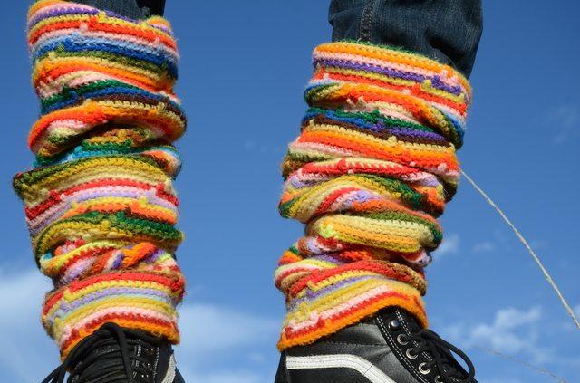 lordvonschmitt coloful crochet legwarmers
