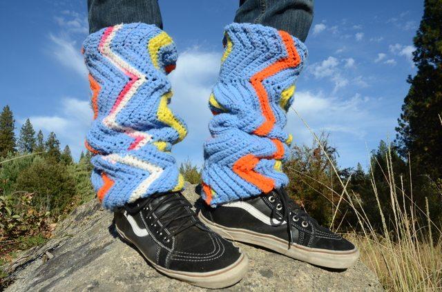 lordvonschmitt mens crochet legwarmers