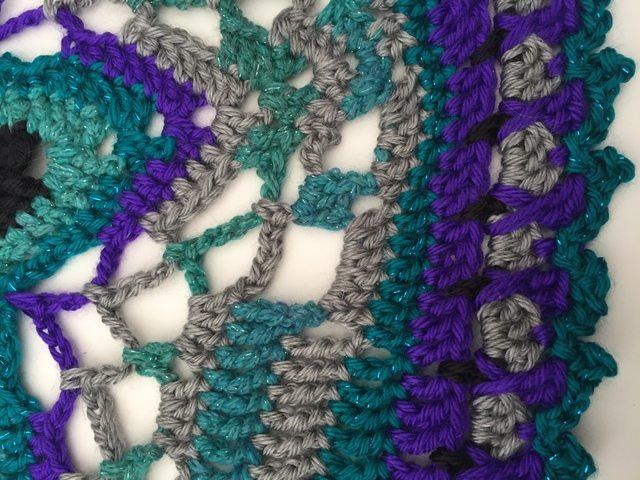 lydia crochet star mandala