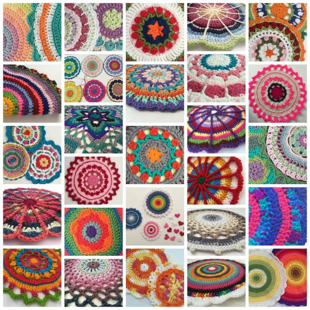 mandalas for marinke crochet october