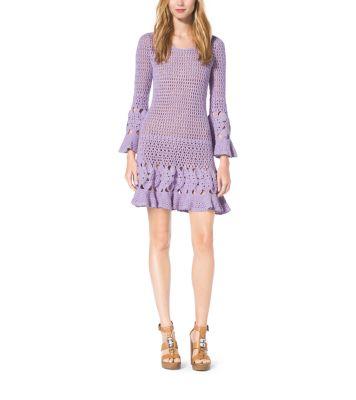 fashion designer michael kors l36d  mochael kors crochet dress
