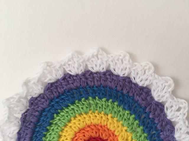 pamelas thread crochet rainbow mandala