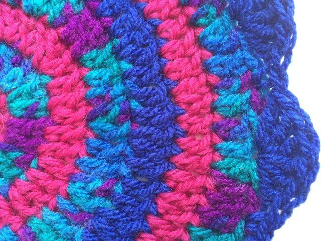 sarah crochet mandala detail