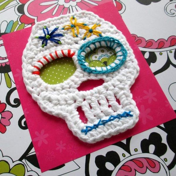 sugar skulls crochet pattern