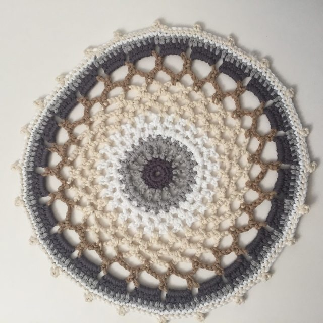 treblestitch crochet mandala