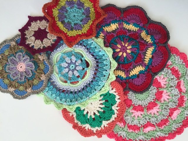 Carolyn Christmas Crochet Mandalas For Marinke