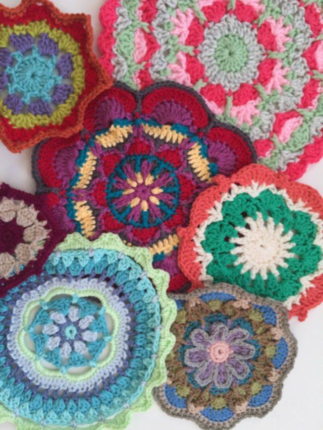 Carolyn Christmas Crochet MandalasForMarinke