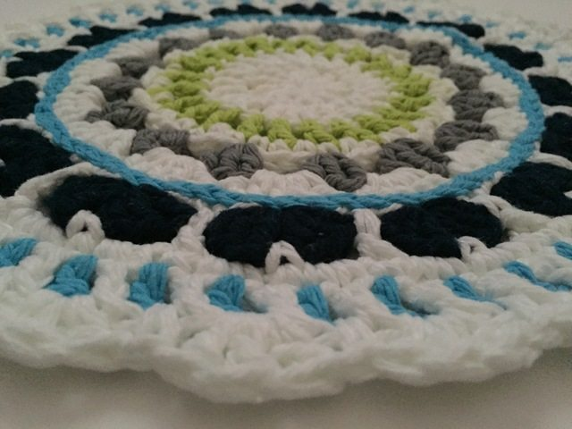 Cathy's Crochet Mandala for Marinke