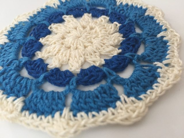 Sarah Bradley Crochet Mandala For Marinke