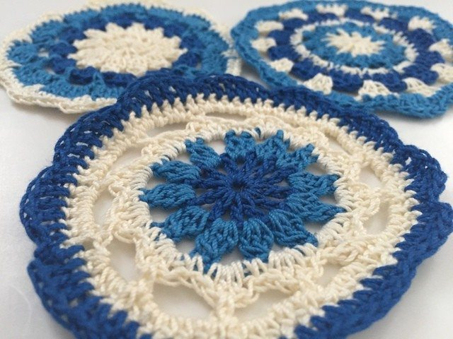 Sarah Bradley Crochet Mandalas For Marinke