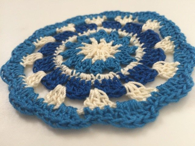 Sarah Bradley's Crochet Mandala For Marinke