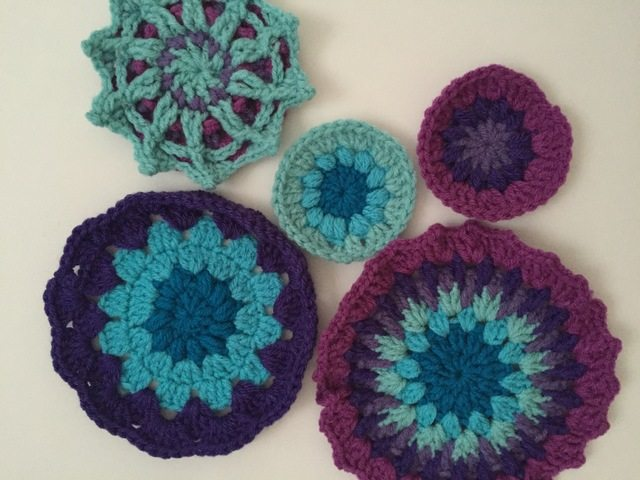 Stephanie's Crochet Mandalas For Marinke + Pet Therapy for Depression