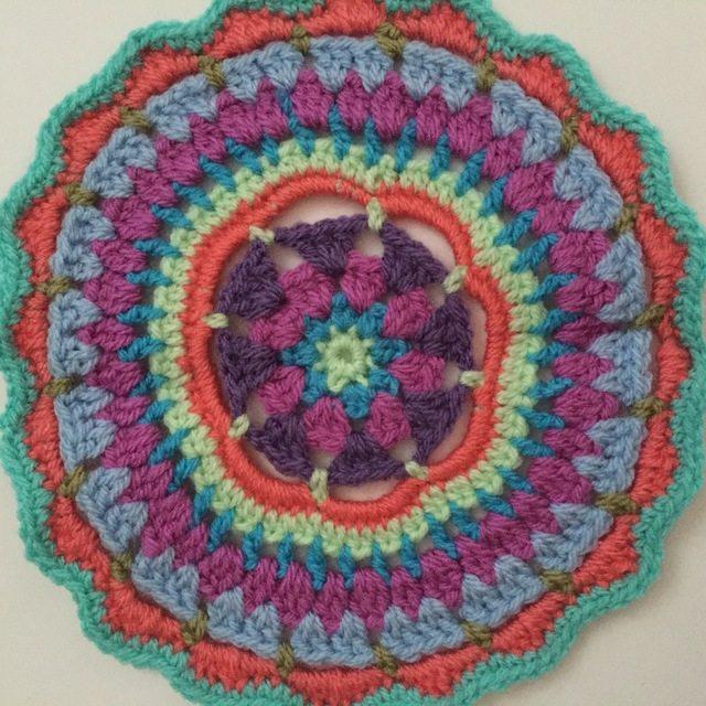 andrea crochet mandala for marinke