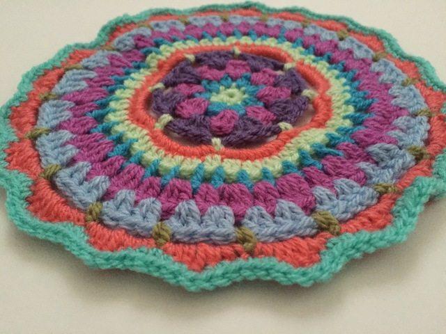 anfloclay crochet mandalasformarinke
