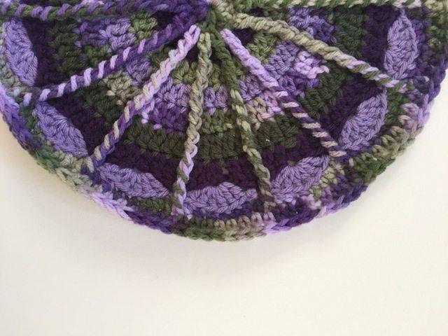 brenda echols crochet mandalasformarinke - spoke