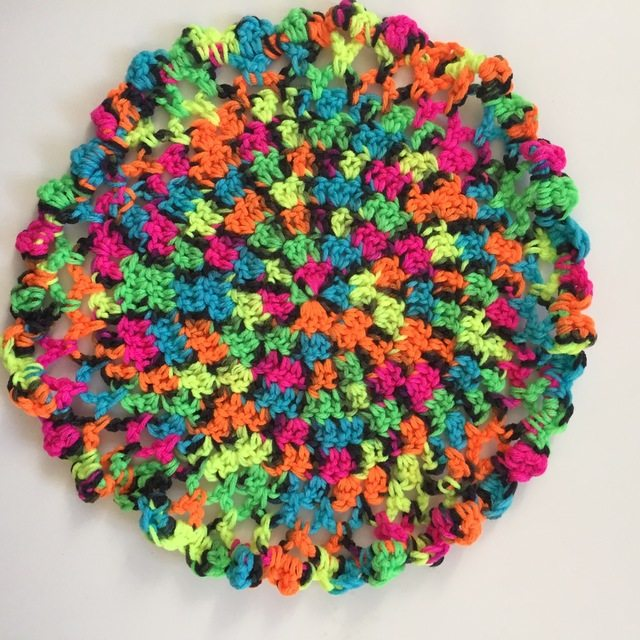 brendas neon crochet mandalas for marinke
