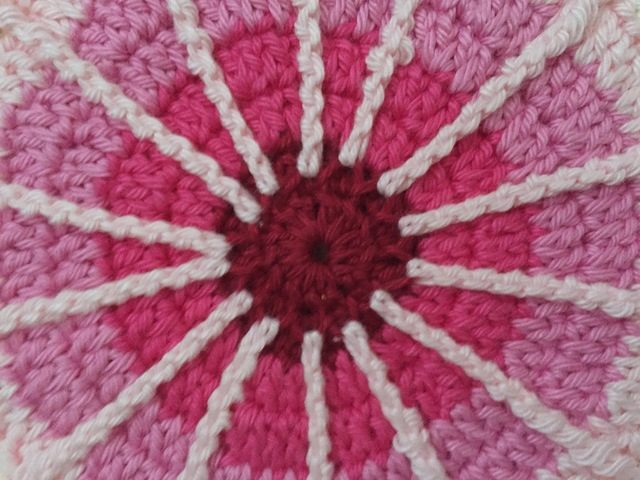 carolien crochet spoke mandala