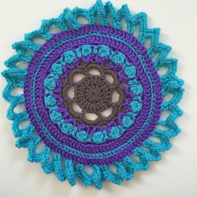 crochet mandala by acacia
