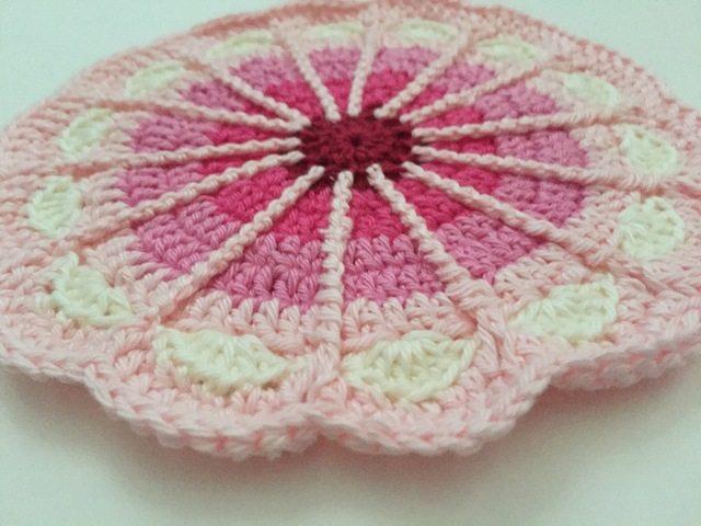 crochet mandala by carolien
