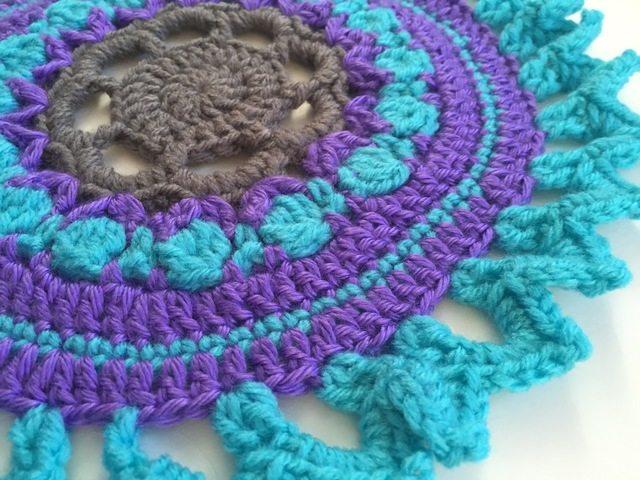 crochet mandala for wink by acacia
