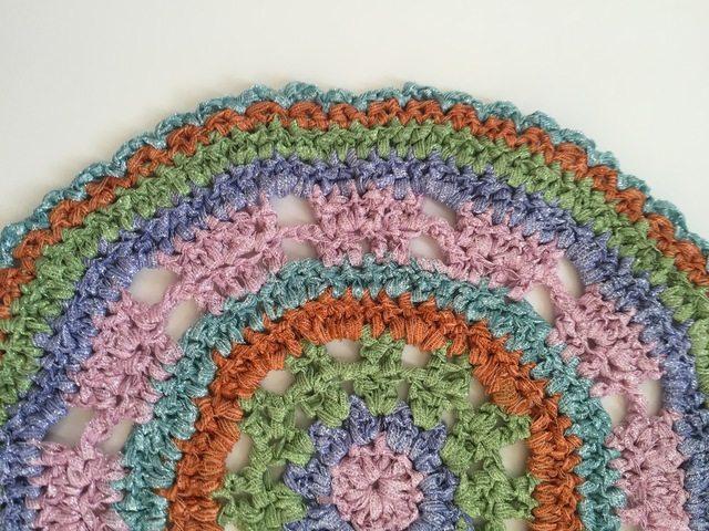 crochet mandala for wink by marcia