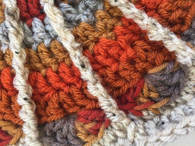 crochet mandala from margaret