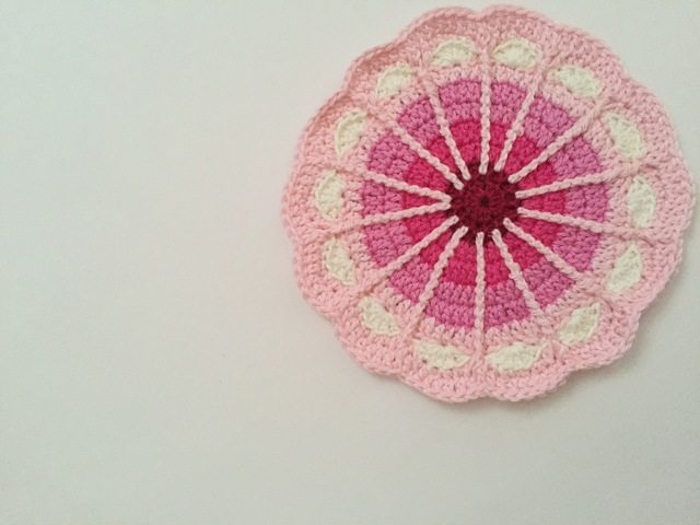 crochet mandalas for marinke by carolien