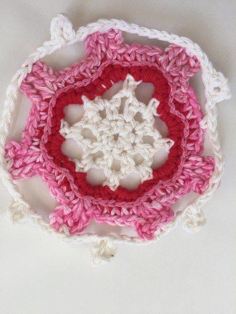 crochet snowflake mandala by marcia