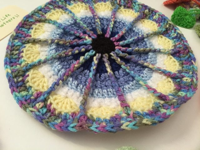 crochet spoke mandala by fran