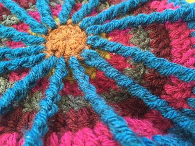 crochet spoke mandala by susan laney