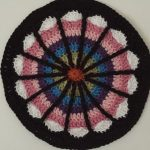 crochetingthruchronicdiseases crochet spoke mandala