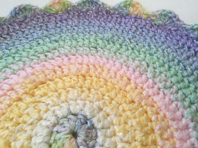 dawn ramsay pastel crochet mandala