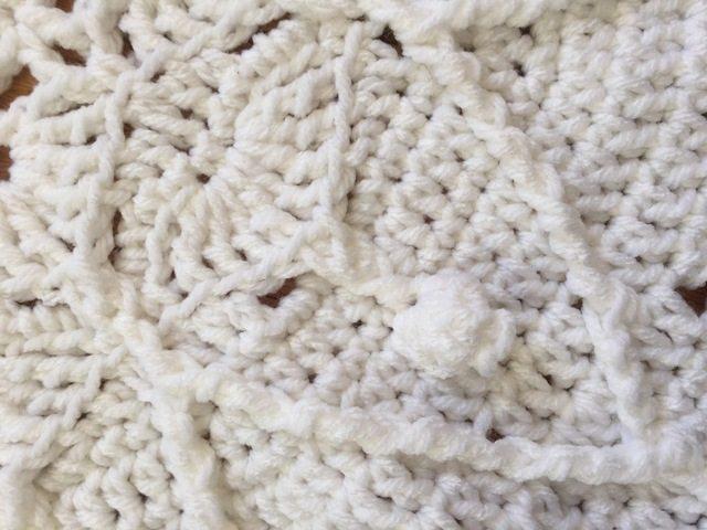 dianna crochet mandala white detail