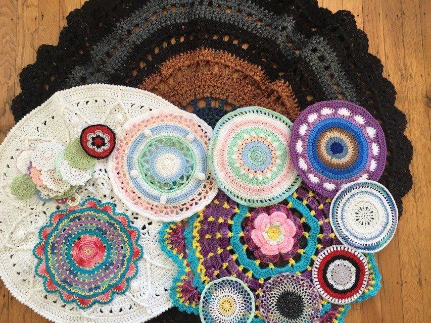 dianna crochet mandalas for marinke