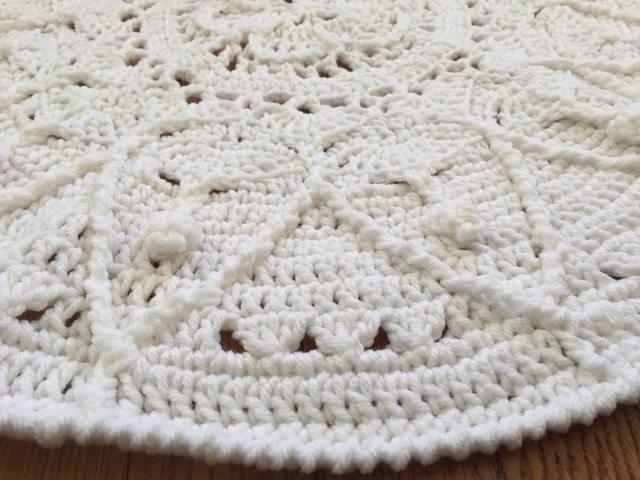 dianna white crochet mandala