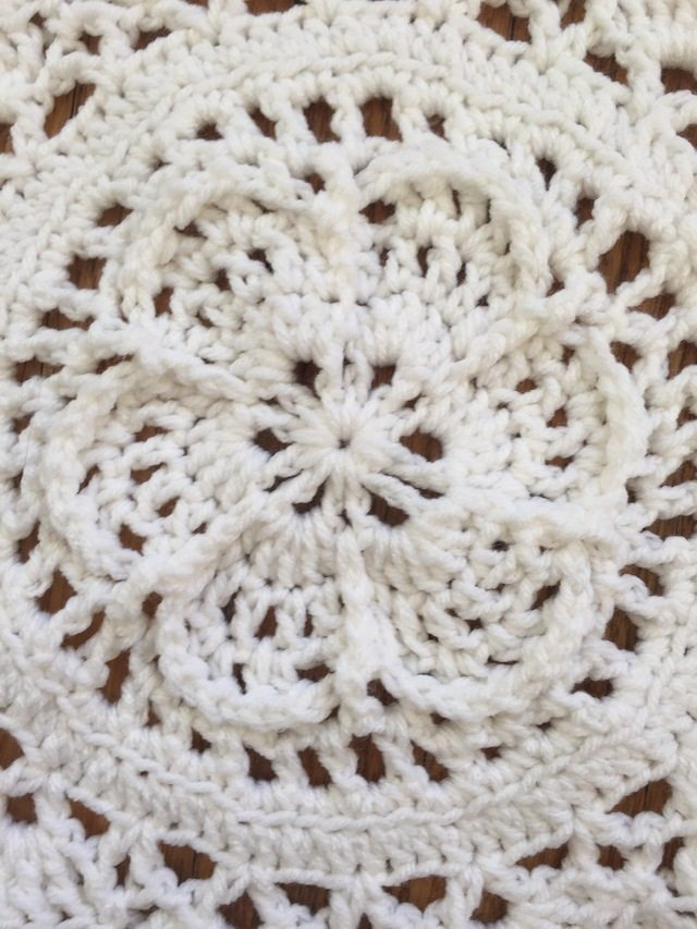flower crochet mandala by dianna