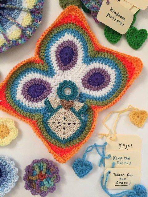 fran crochet butterfly mandala