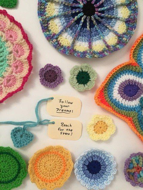 fran crochet mini mandalas