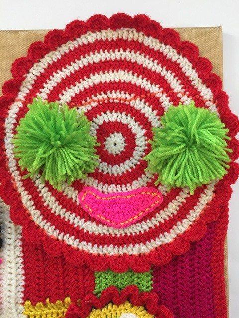 kerry's crochet mandala art for marinke -