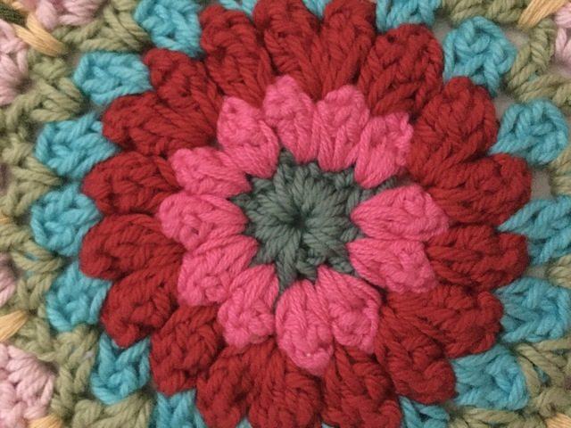 jeanettes crochet mandala for marinke