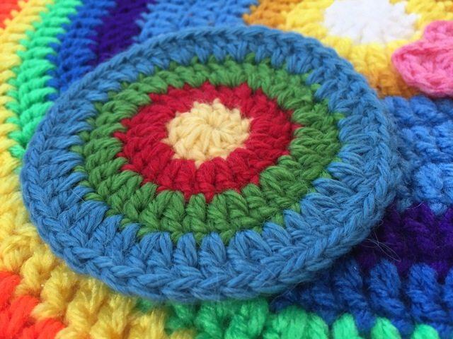 linda crochet mini mandala for marinke