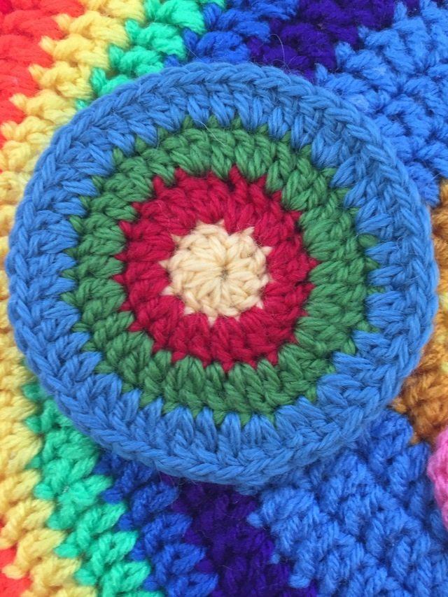 linda crochet mini mandala