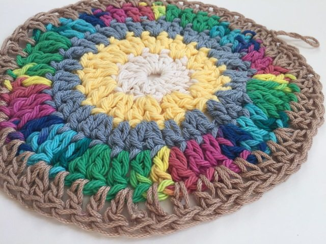 marcia crochet mandala