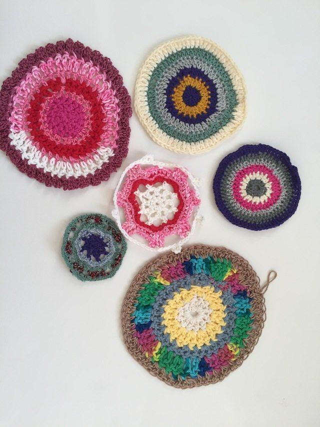 marcia small crochet mandalas for marinke