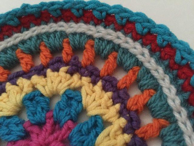 roxanne crochet mandala
