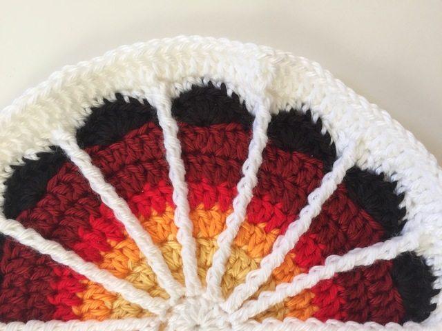 spoke crochet mandala by connie