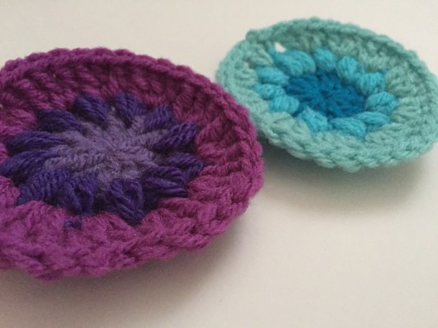 stephanie crochet mini mandalas
