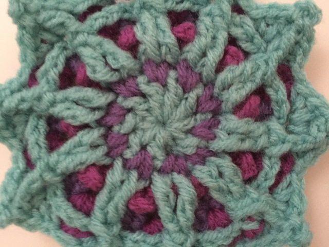 stephanie crochet star mandala